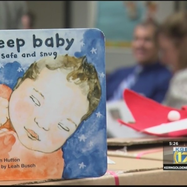 Book provides tips for safe sleeping for babies