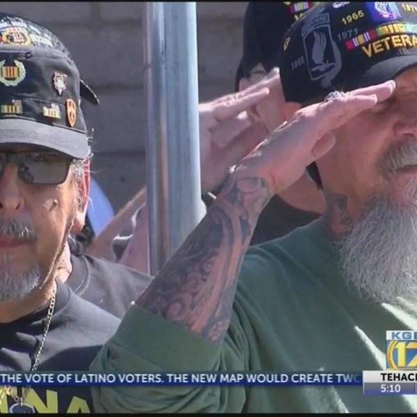 Vietnam veterans honored at Bakersfield ceremony