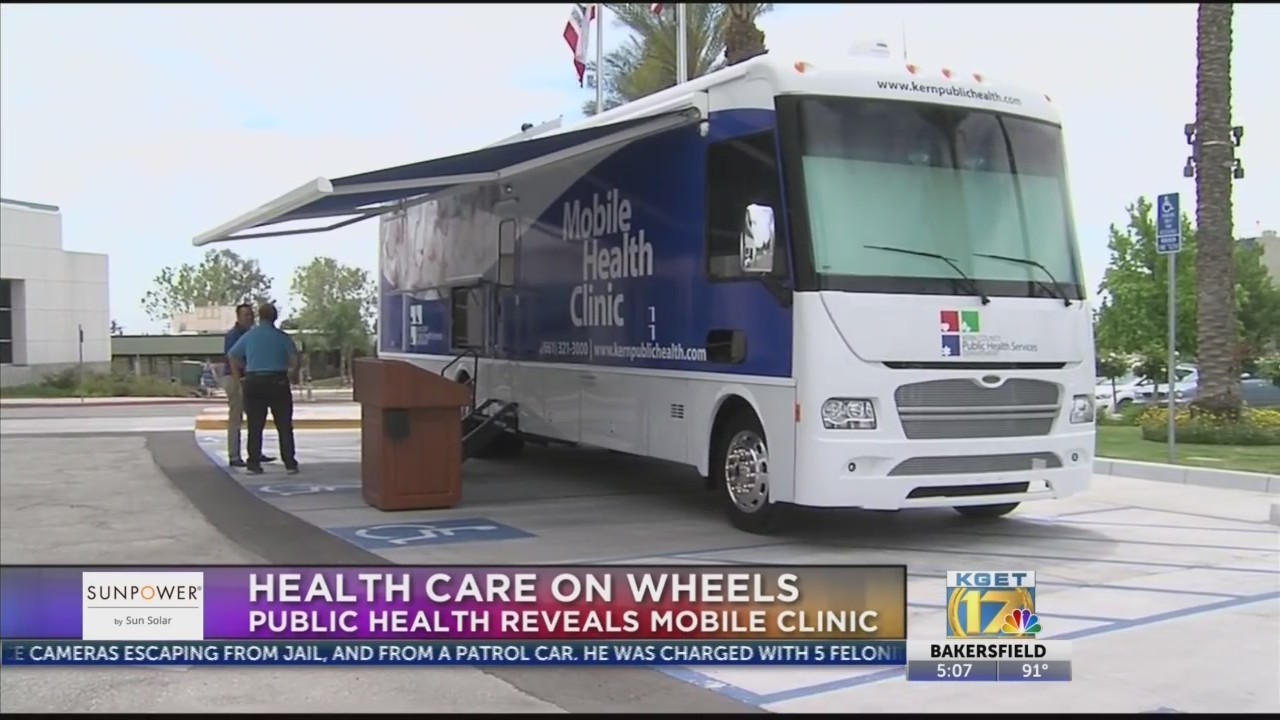 Kern County Public Health unveils mobile health clinic