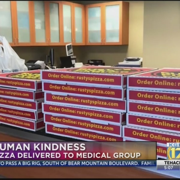 Hello Humankindness: Pizza delivered to medical group