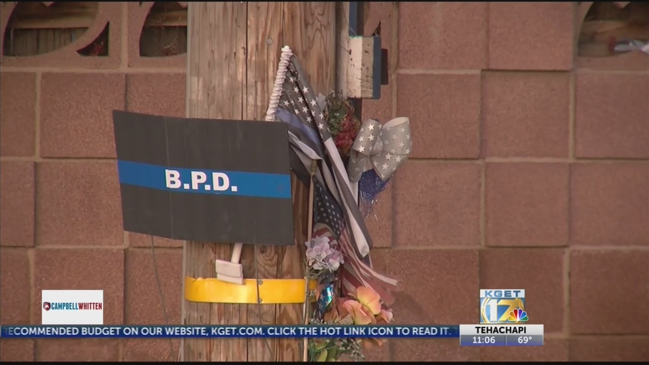 Officer David Nelson remembered at vigil in Northeast Bakersfield