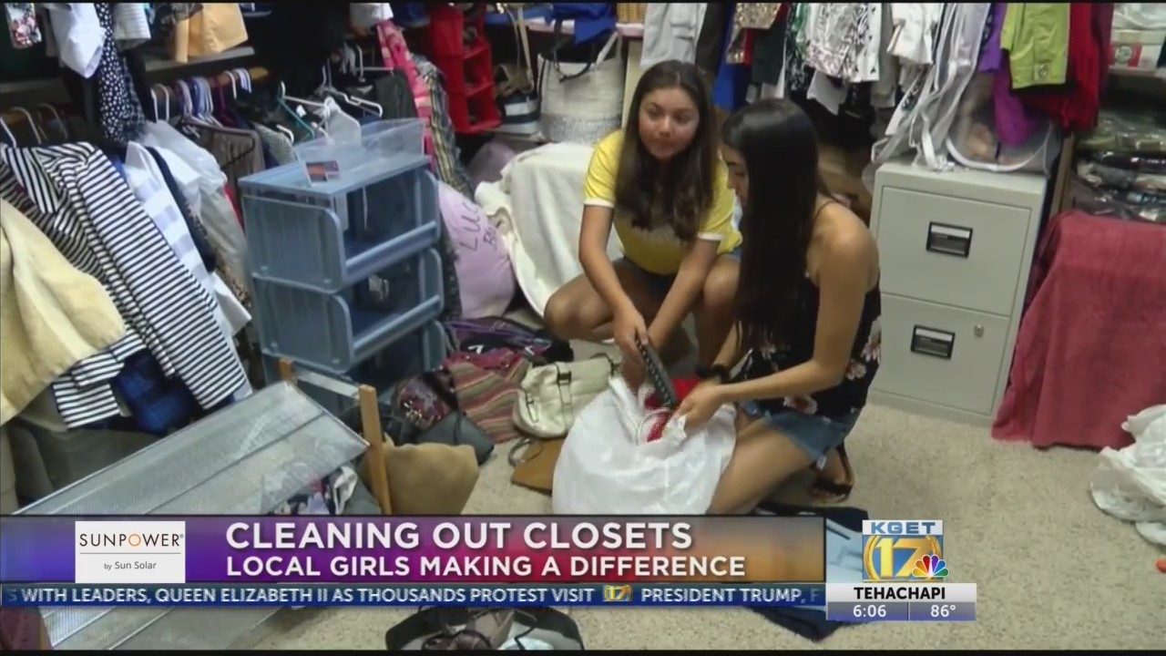 Clean closets for the community