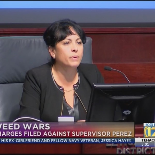 Supervisor Perez Charged by DA's Office