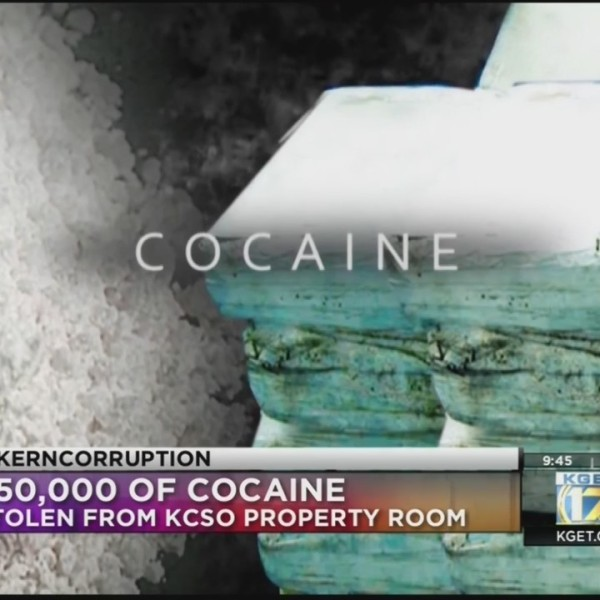 Kern Corruption: Missing Cocaine