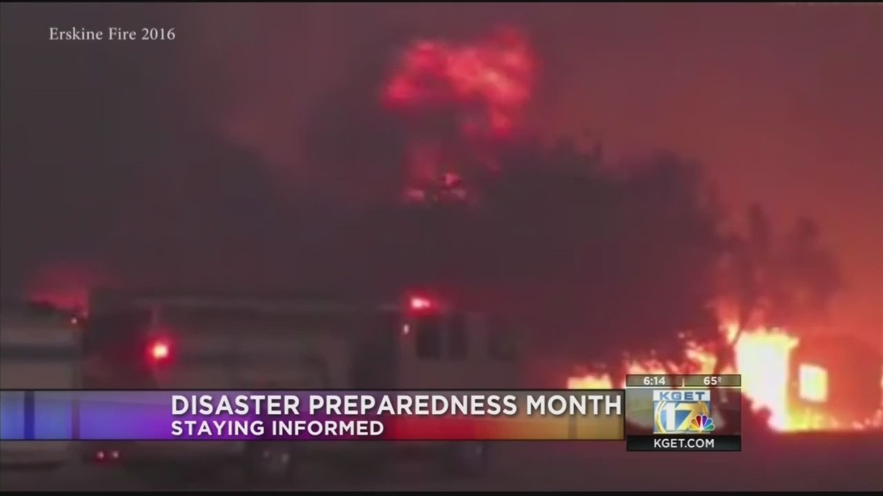 Disaster Preparedness Month continues with third web chat today