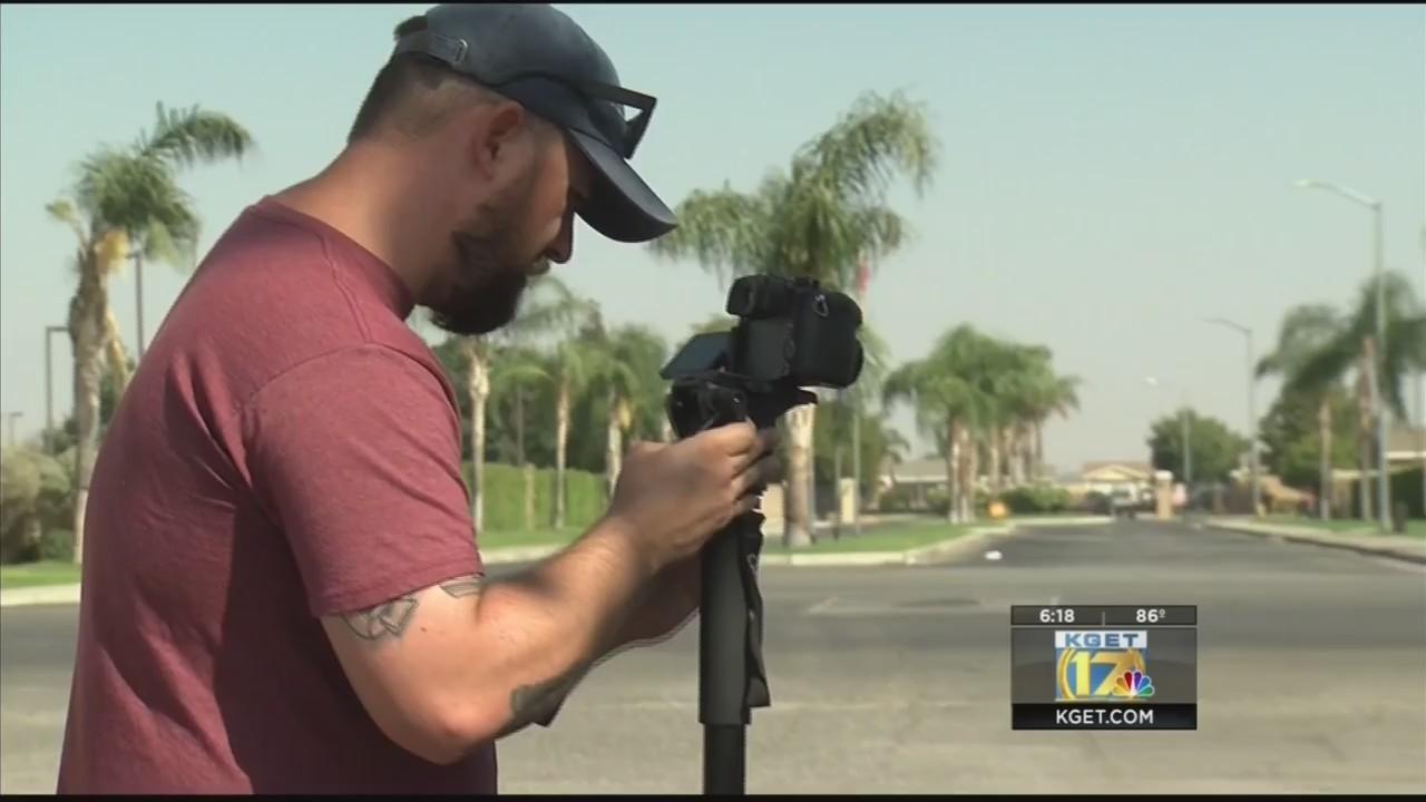 'Eracism' music video shoot in southeast Bakersfield
