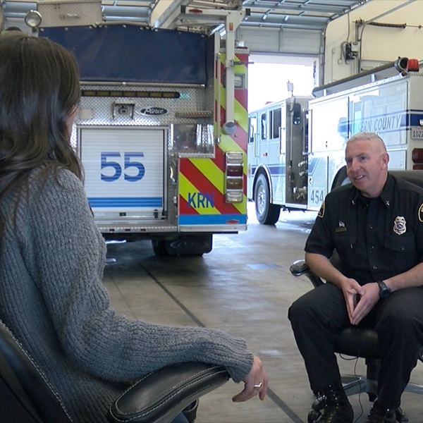 Local first responders return home after wildfires