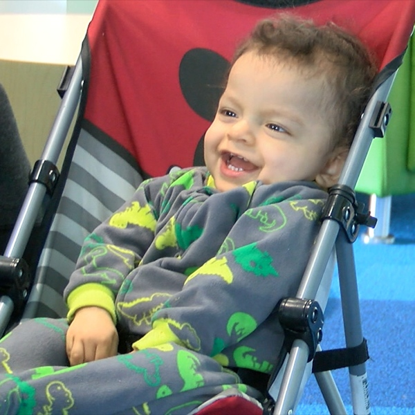 A local baby defies all the odds to stay alive and help other kids