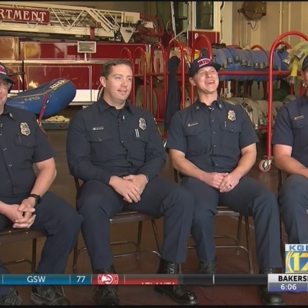 Bakersfield Fire Department firefighters share their experience after the Camp Fire