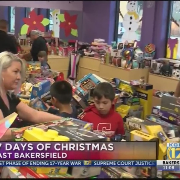 Boys Girls Club of Kern County kids receive gifts from KGET Toy Drive