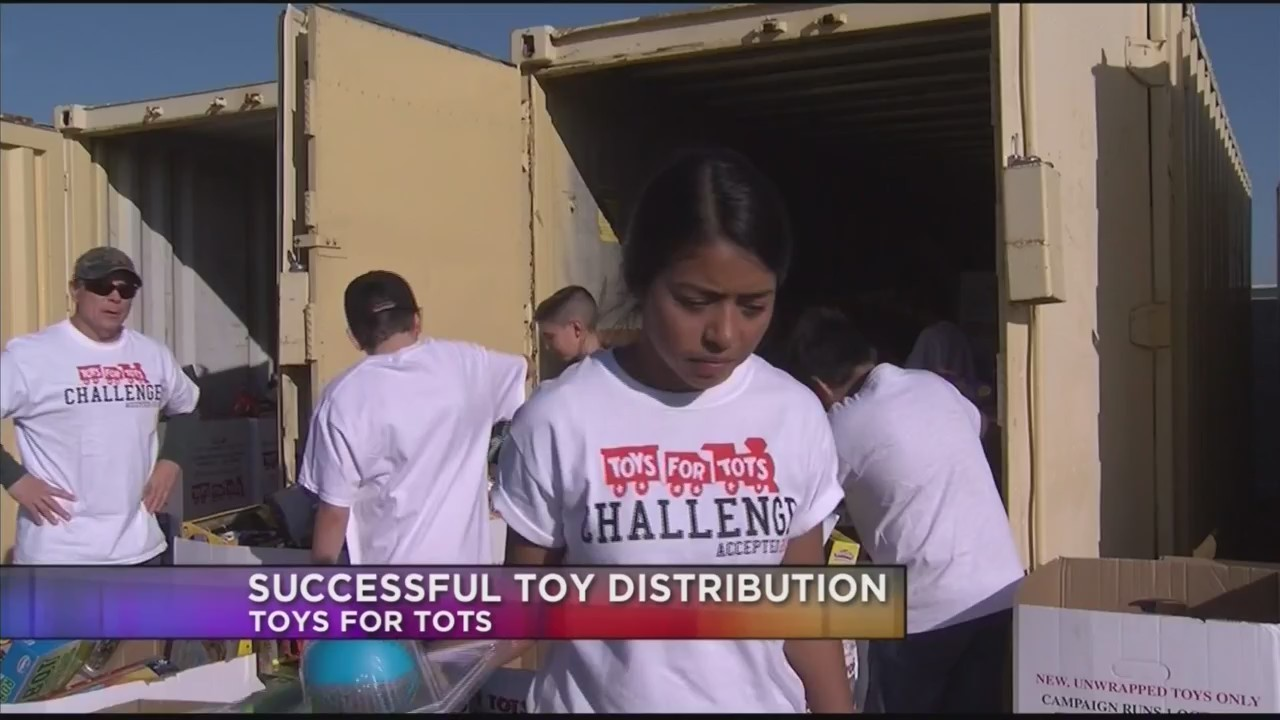 Toys for Tots toy distribution