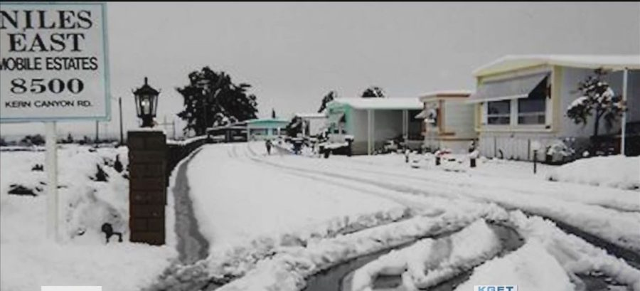 Bakersfield snow day