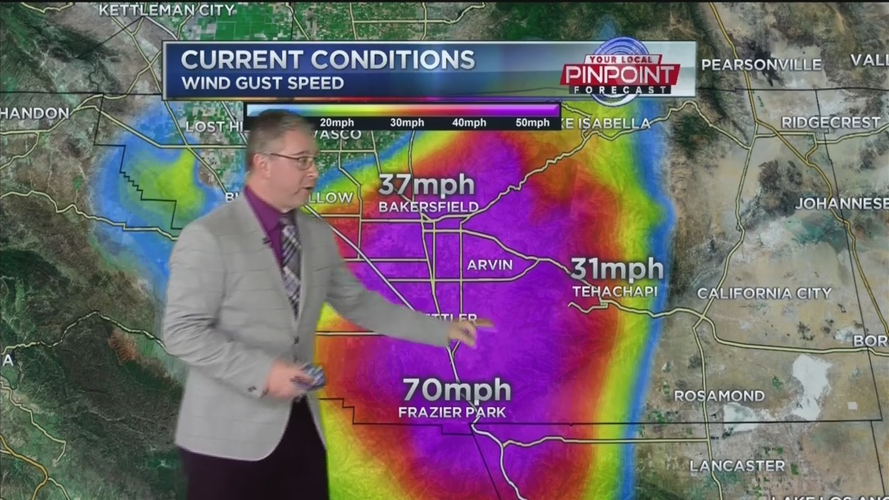 Kevin's Breezy Tuesday Forecast