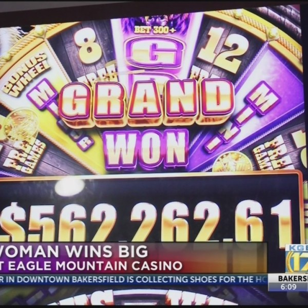 Local woman wins big at Eagle Mountain Casino