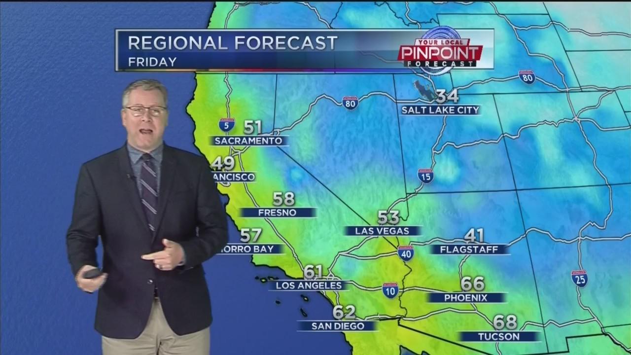 Kevin's Friday Forecast