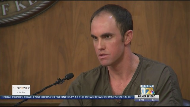 Parker Chamberlin testifies about murder of his mother