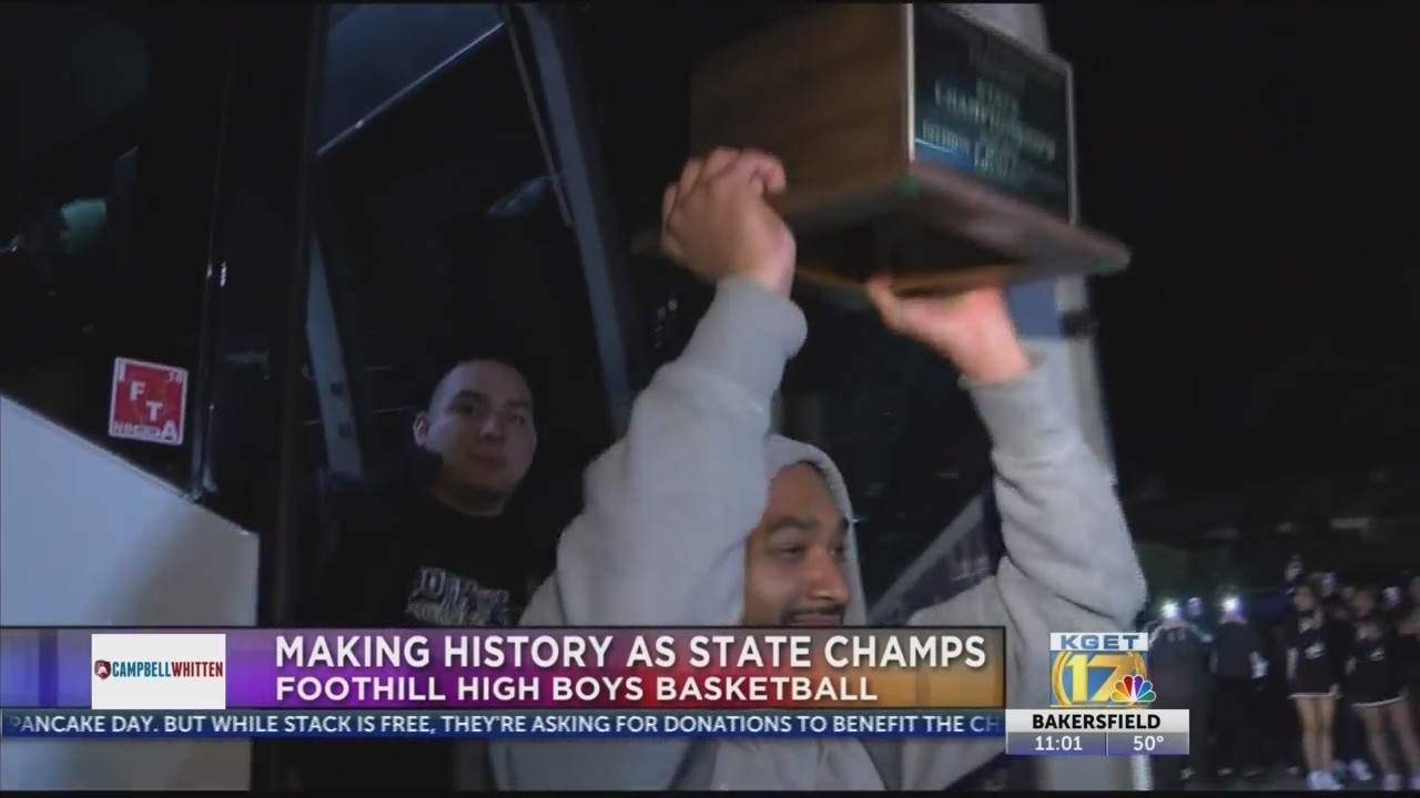 Foothill High boys basketball win 2019 State Championship