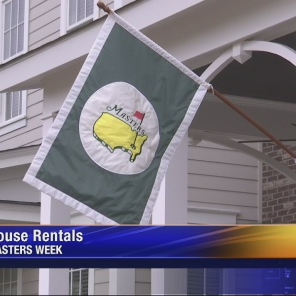 House Rentals for Masters Week
