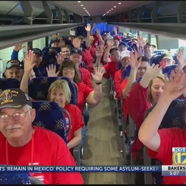 Kern County Honor Flight makes its first stop in Baltimore