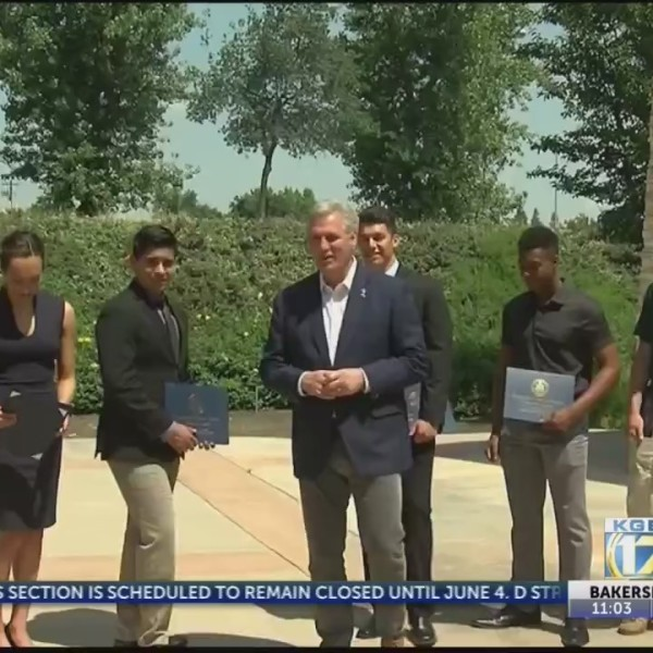Congressman McCarthy honors local high school students