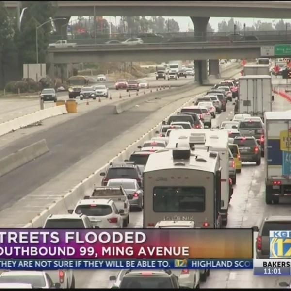 Hwy 99 flooding