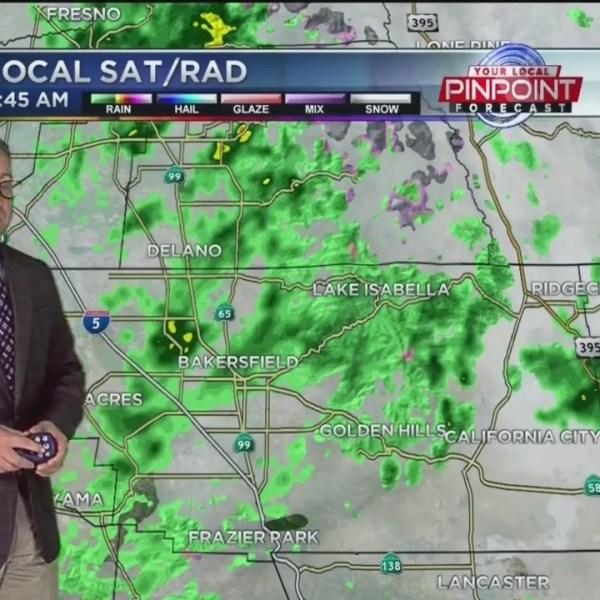 Kevin's Wet Thursday Forecast