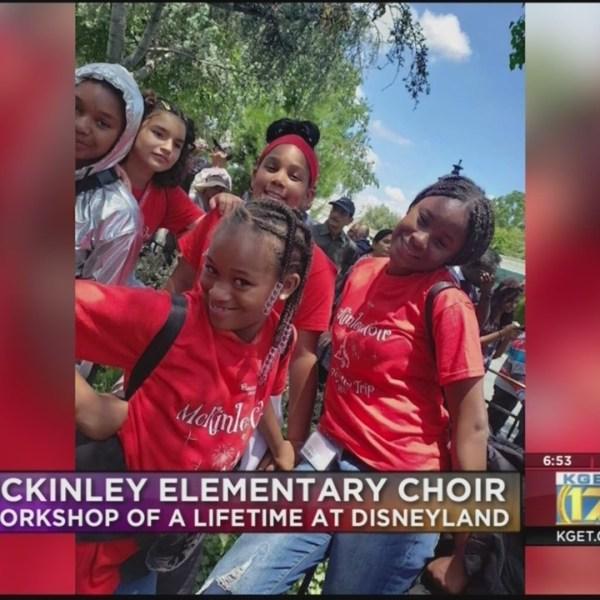 McKinley Elementary School choir at Disney workshop