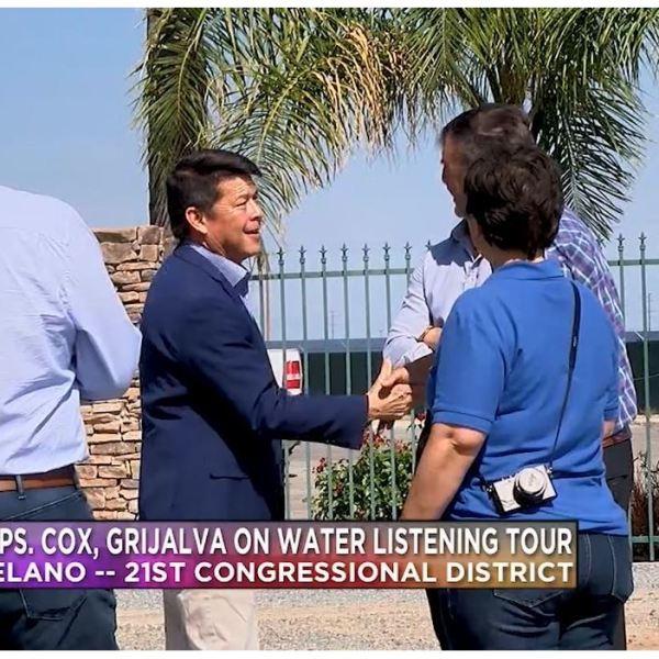 Reps. TJ Cox, Raul Grijalva partake in water listening tour across valley