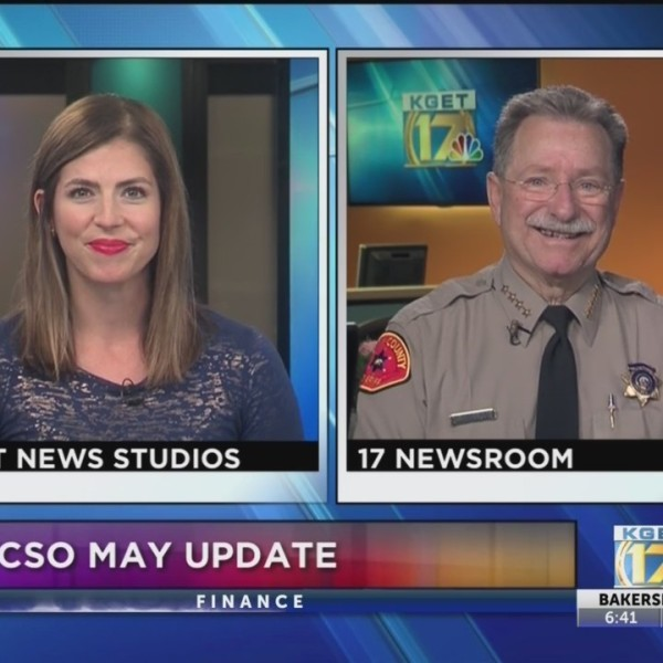 Sheriff Youngblood on 17 News at Sunrise