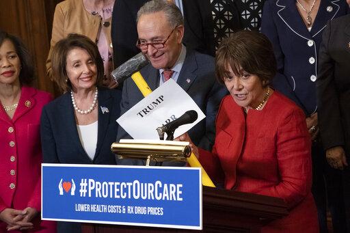 Nancy Pelosi, Chuck Schumer, Anna Eshoo, David Tate, Lisa Blunt Rochester
