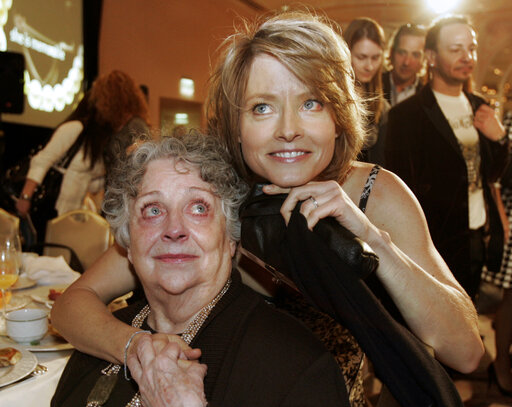 Jodie Foster, Evelyn Foster