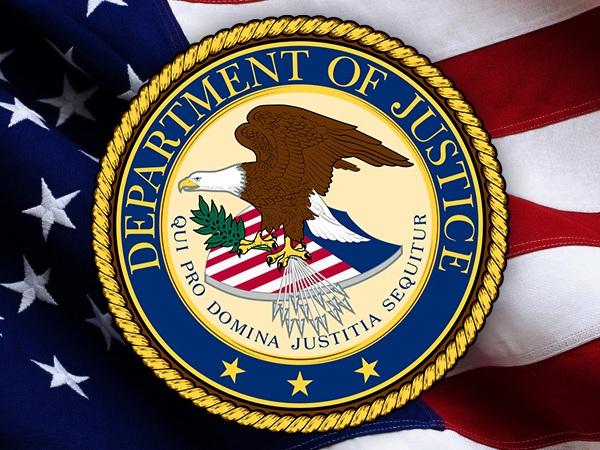 DOJ - Department of Justice logo