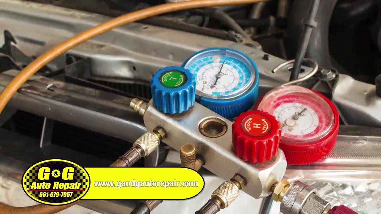 G&G Automotive - AC System Check