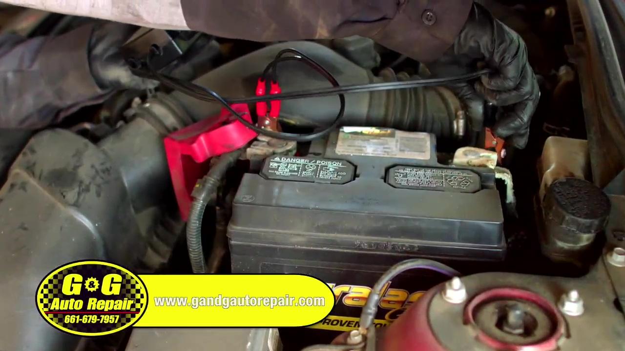 G&G Automotive - Battery Service