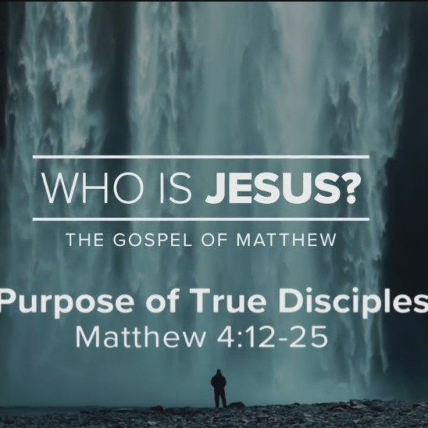 Today's Walk - The Purpose of True Discipleship