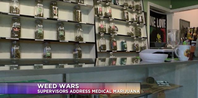 Weed wars: county supervisors vote to draft possible ballot measure on medical cannabis