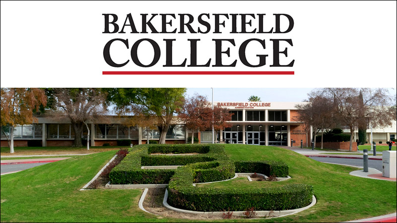 Bakersfield College logo and campus
