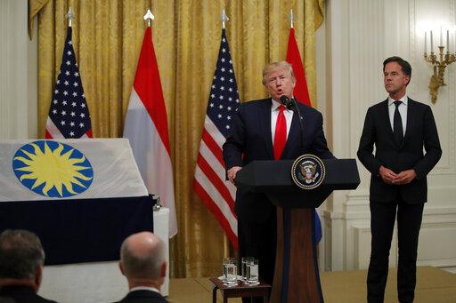 Mark Rutte Donald Trump