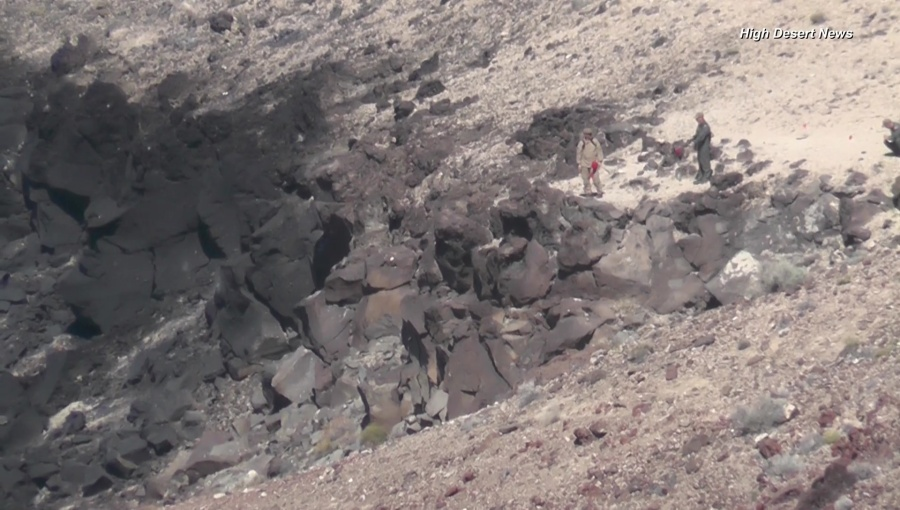 US Navy: F/A – 18E crashes in Inyo County, pilot remains