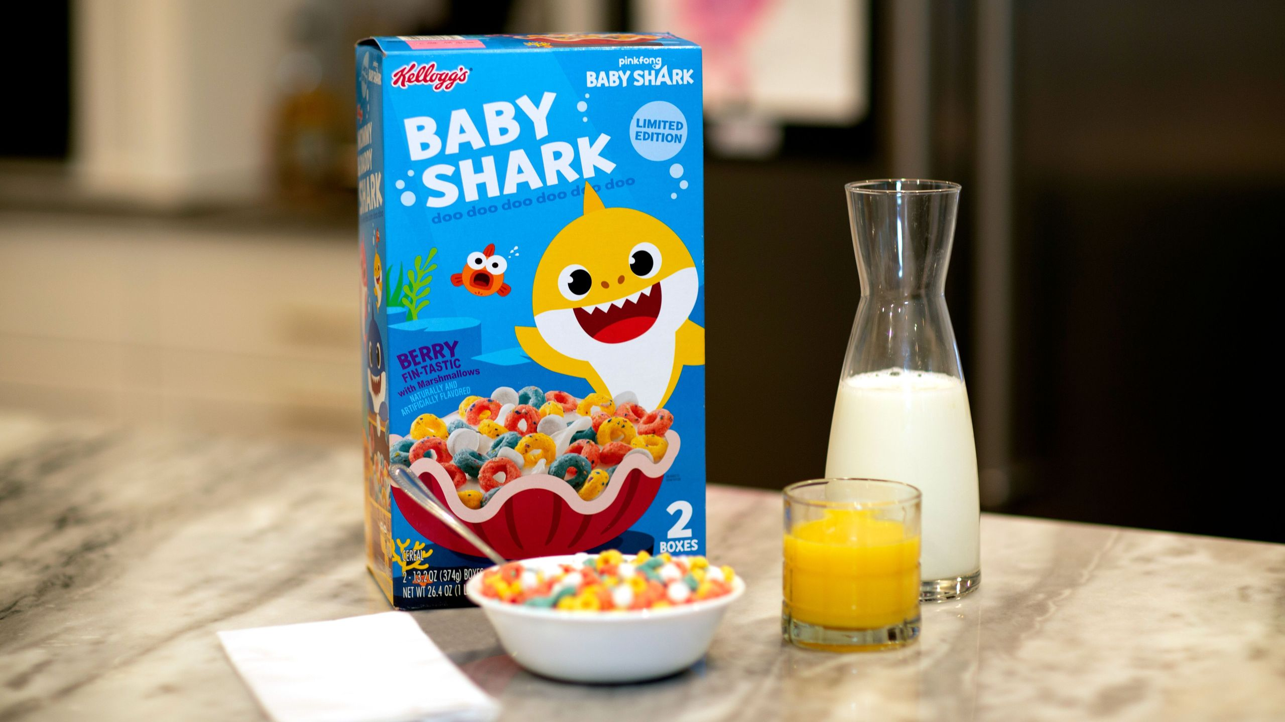 Baby Shark cereal coming to Sam's Club this weekend | KGET 17
