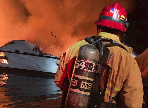 Ventura Boat Fire