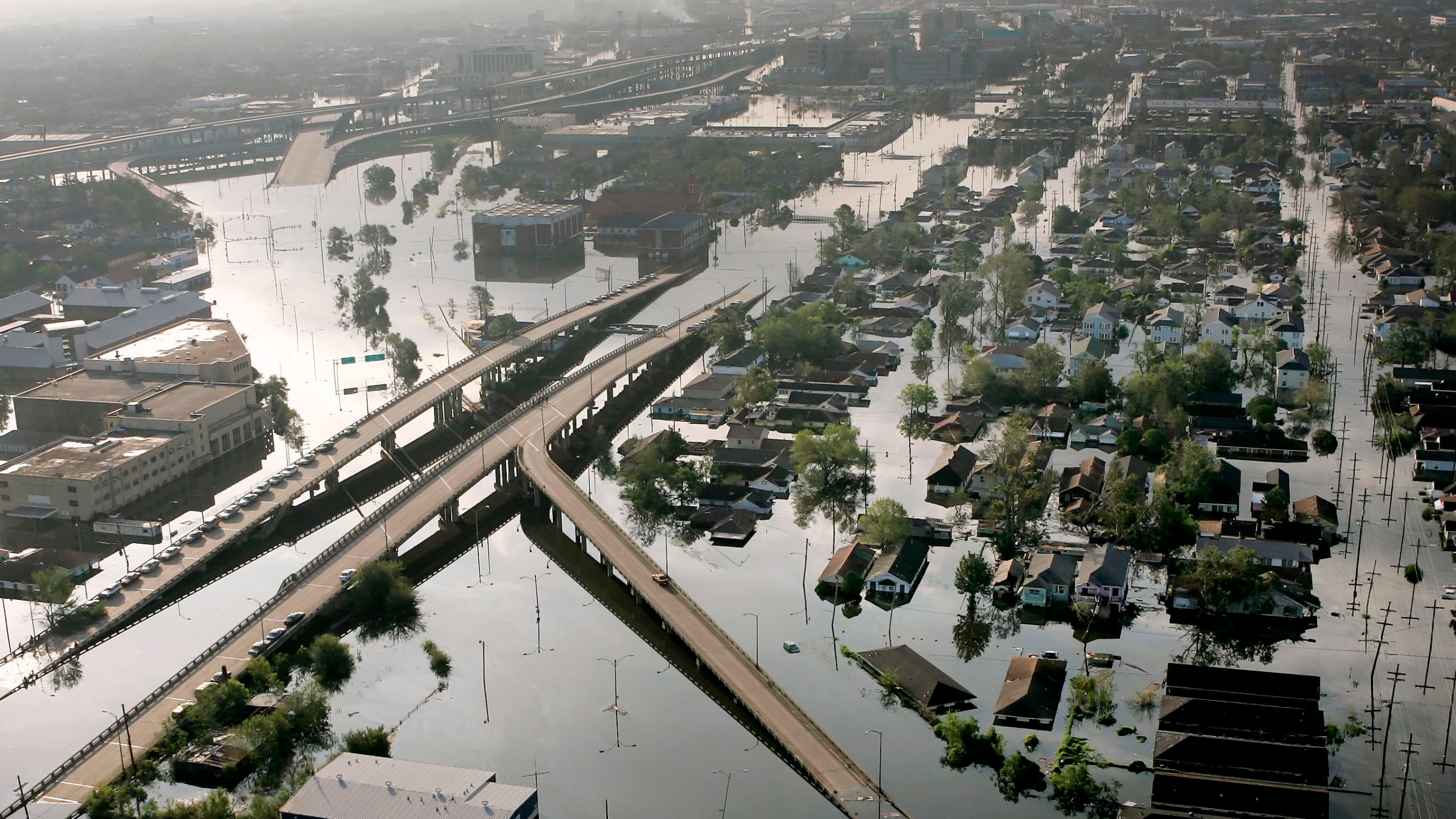 NEW ORLEANS FLOODWATERS
