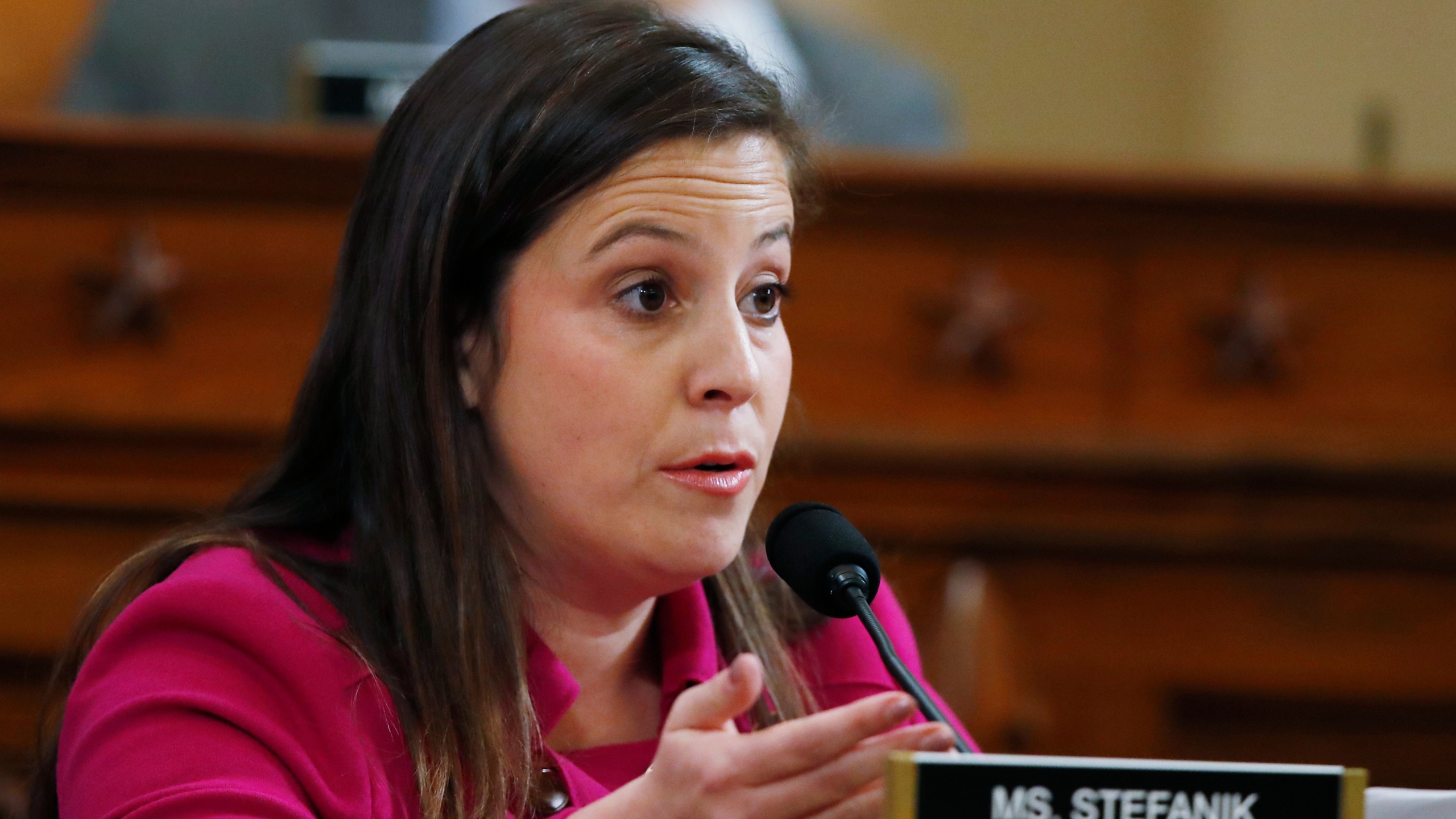 GOP woman gets outsized role at impeachment hearing - KGET 17
