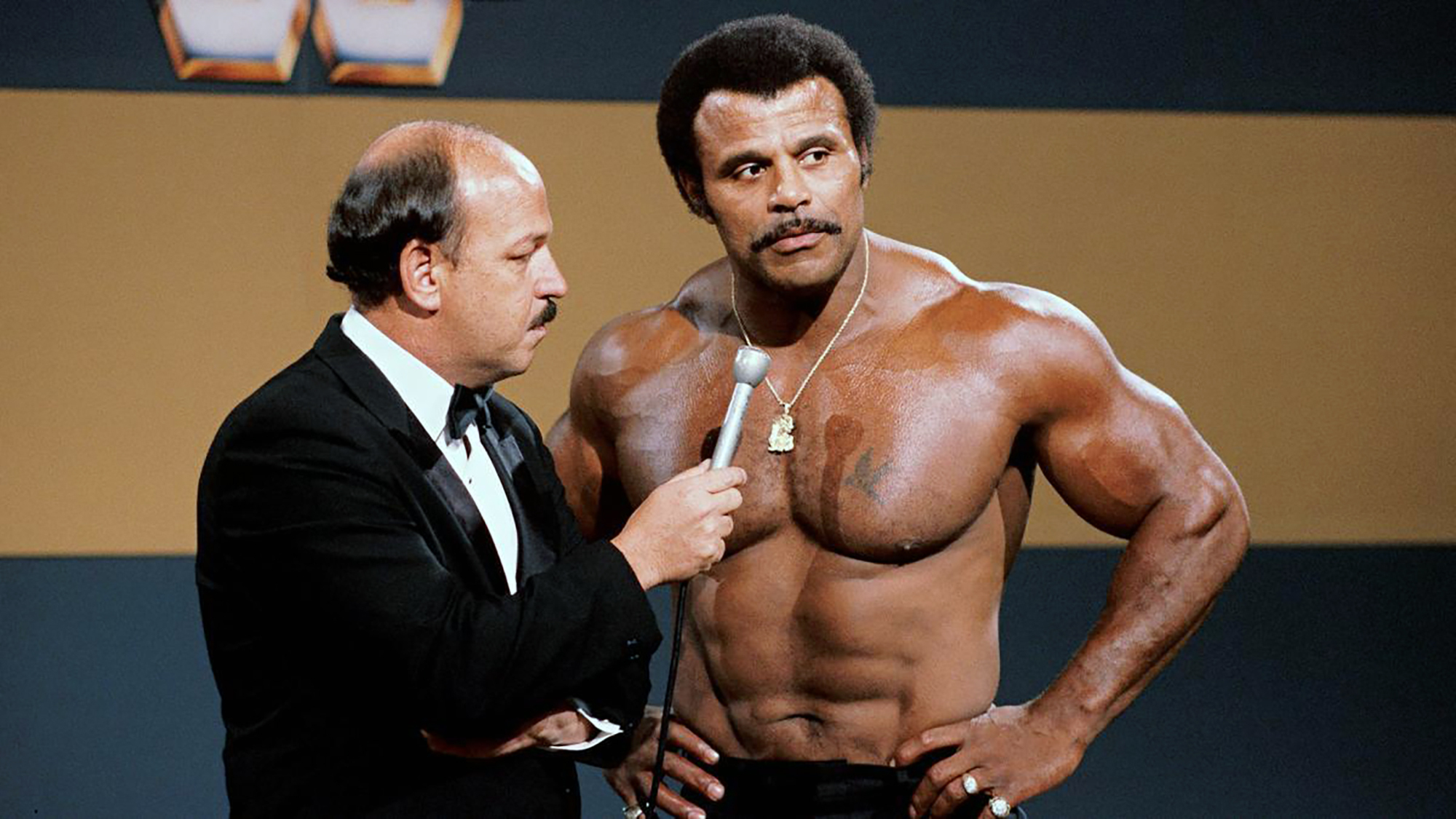 """Mean"" Gene Okerlund, Rocky ""Soul Man"" Johnson"
