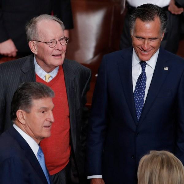 Joe Manchin, Lamar Alexander, Mitt Romney