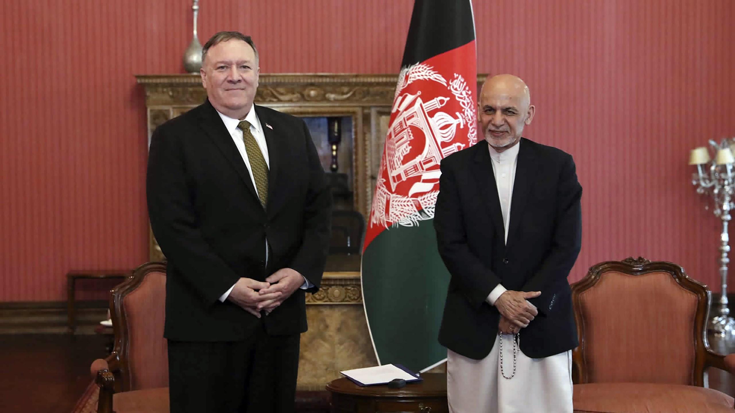 Mike Pompeo, Ashraf Ghani