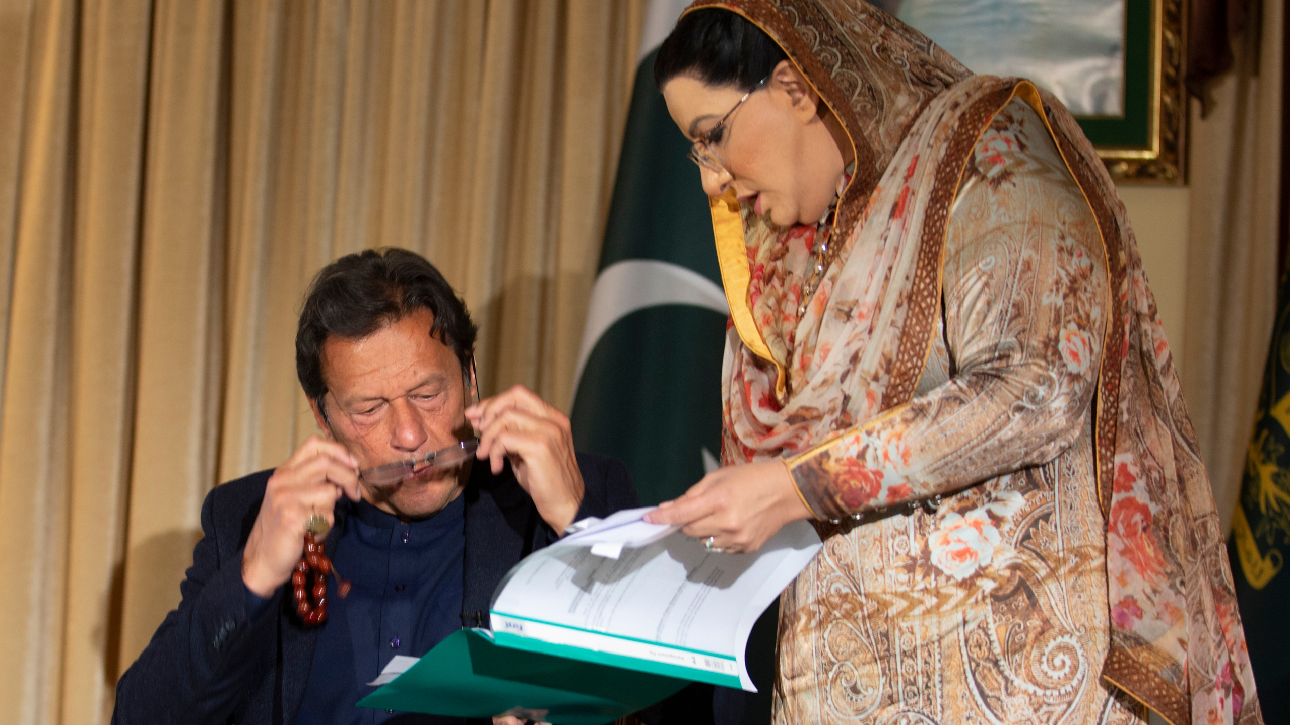 Imran Khan, Firdous Ashiq Awan