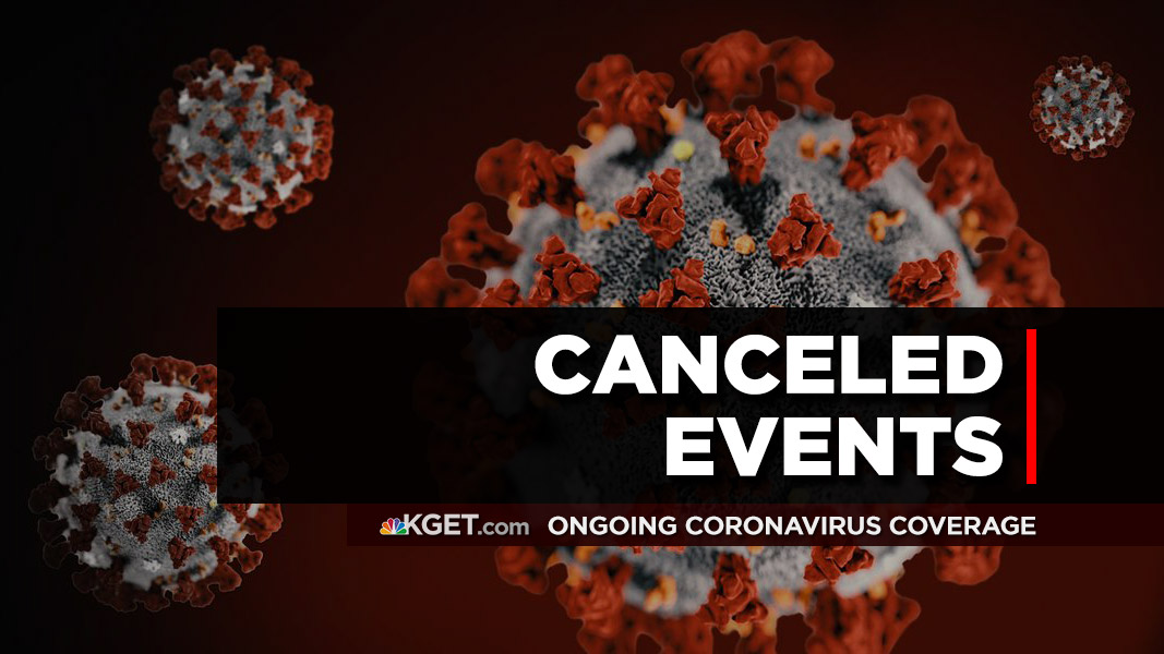 COVID Canceled Events