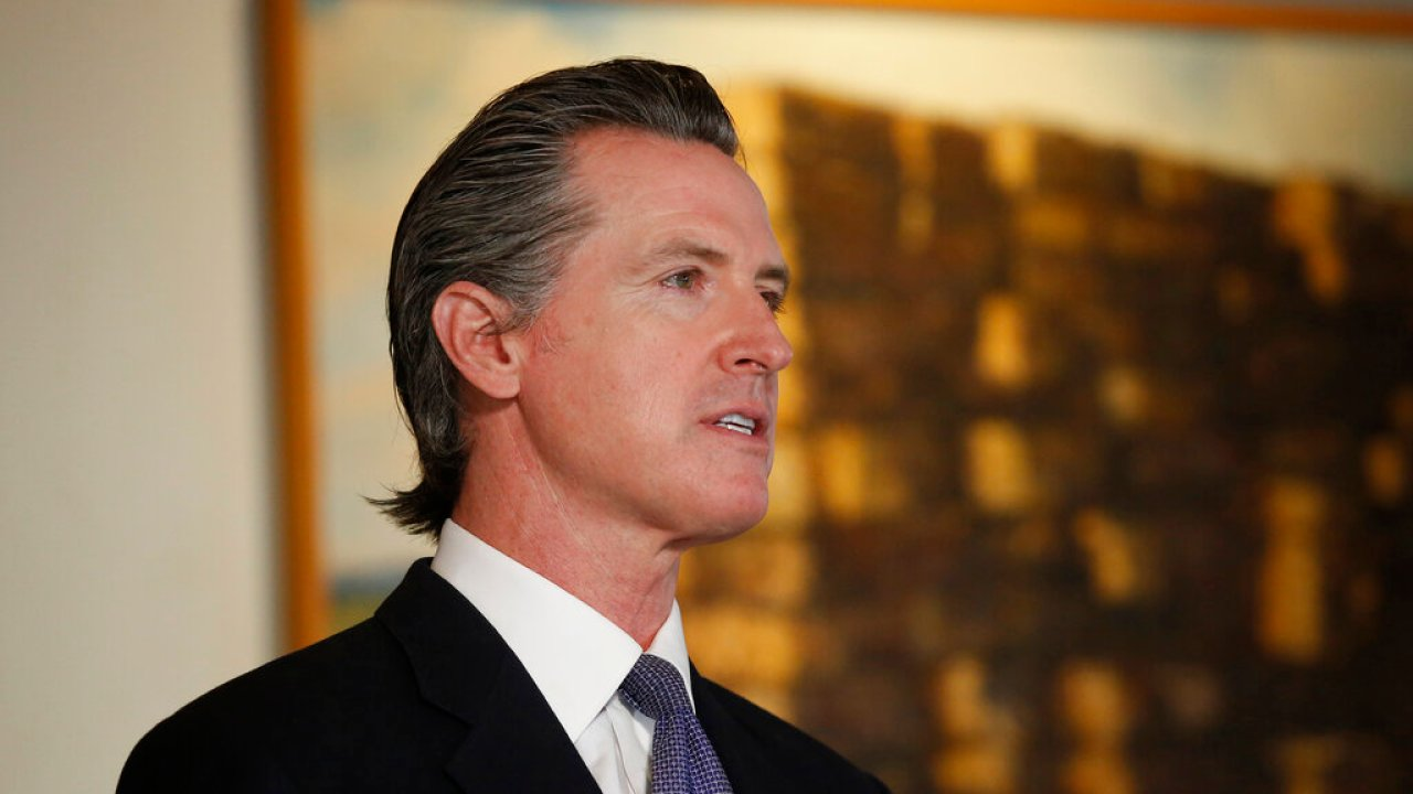 Gov. Gavin Newsom remembers fallen service members on Memorial Day