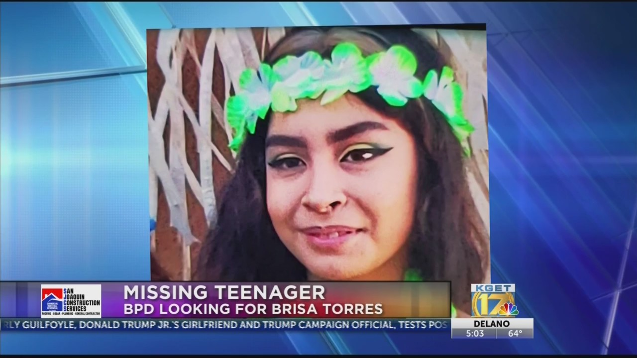 Update Missing 16 Year Old Girl Found Safe Kget 17